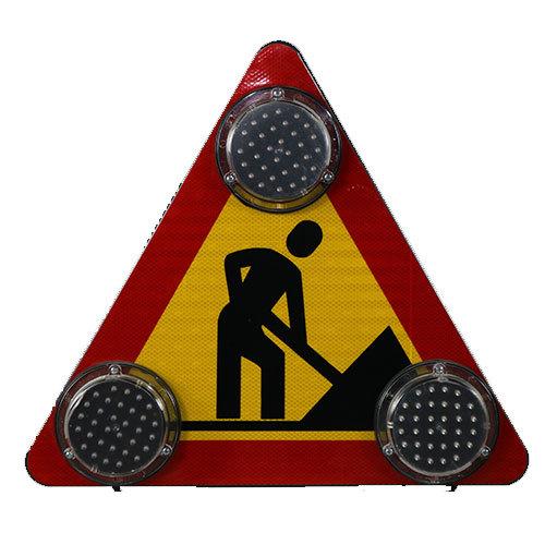 Indicator cu flash-uri Drum in lucru
